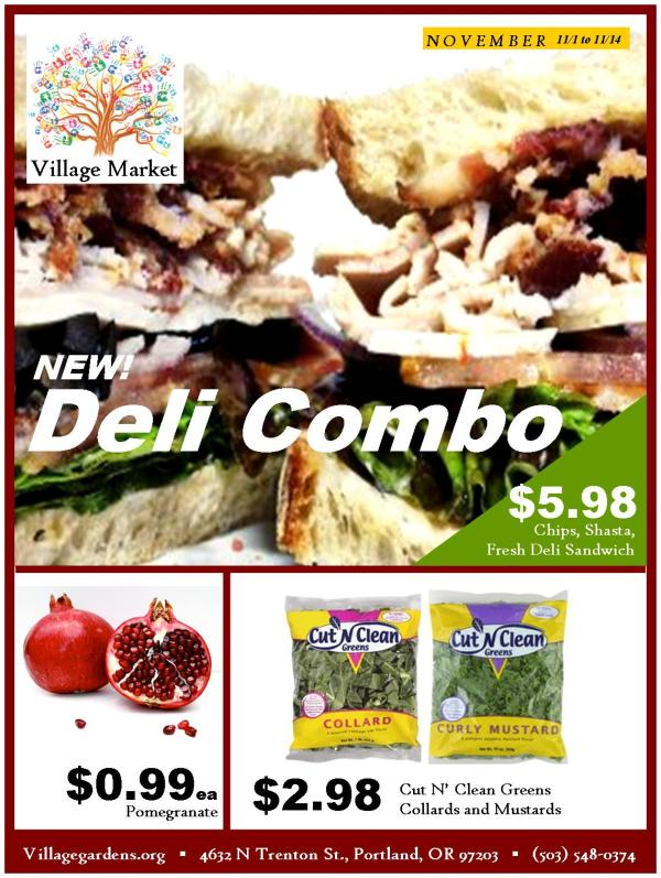 Village Market November Ad Page